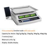 Sonnenkollektor-doppelter elektronischer Digital-Preis-rechnenschuppe