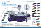 Belüftung-verursachende Schuh-alleinige Einspritzung-formenmaschine