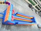Corrida inflable fijada aros dobles del amortiguador auxiliar del juego de baloncesto del tiro