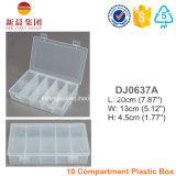Un contenitore libero organizzato plastica di 10 scompartimenti