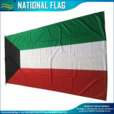 100%년 폴리에스테 세계 국가 100X200cm 쿠에이트 국기 (B-NF05F03006)