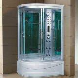 Sauna de vapor de 1200 mm con bañera y ducha (AT-G1285AF)