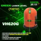Niveau Vh620g de laser de faisceaux de vert de croix de niveau de laser de Danpon Pocketable