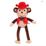 Le cadeau se reposant mignon de singe de Patchers badine le jouet de la CE de peluche