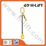 Imbragatura a catena dell'acciaio legato del grado 80/imbracatura sollevamento della catena