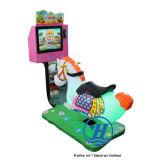 Het muntstuk stelde de Machine van het Spel van de Rit Kiddie (in werking zj-KR08)