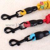 Collare di cane di nylon della tessitura dei guinzagli di addestramento di slittamento dell'animale domestico del cane della corda