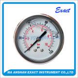 工場価格圧力正確に測オイルによって満たされる圧力計100mmの圧力計