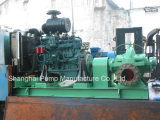 Bomba de água centrífuga conduzida Diesel