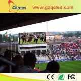 Estádio de futebol ao ar livre grande display de LED