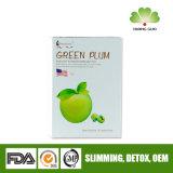 Ameixa verde para desintoxicação para constipação efetivamente, emagrecimento corporal