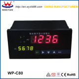 Controladores inteligentes de temperatura de LCD digital com display duplo