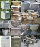 Pot de fleurs en pierre de sculpture naturelle
