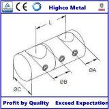 Support de barre transversale double face pour main courante, balustrade, barrière en verre