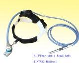Luz principal médica da fibra óptica para a cirurgia otorrinolaringológica