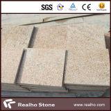 Tramonto dorato/pietra gialla rustica del granito G682 che pavimenta per modific il terrenoare
