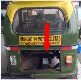 Bajaj 인도 차량 전송자를 위한 전기 뒤 축 220mm 드럼 브레이크