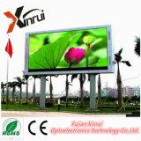 Al aire libre de alto brillo LED RGB P8 Pantalla de vallas de publicidad