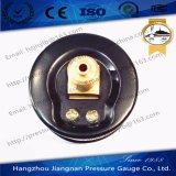 """40mm 1.5 """" 0.6MPa範囲が付いているミニチュア概要の圧力計"""
