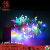 LEDの休日の装飾のための多色刷りのクリスマスの豆電球ストリング