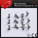 Rebite de sólido escareados alumínio DIN661