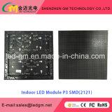 Visualización de LED de interior al por mayor de la visión de los media de publicidad del precio P3, USD780