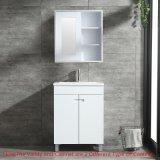 Banheiro vaidade 24 Armário de madeira Undermount afundar W/Conjunto de prateleira do espelho de parede