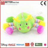 Brinquedo macio da lagarta do bebê do animal enchido