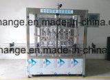 Produtos líquidos automáticos que enchem a linha de produção de rotulagem tampando da codificação