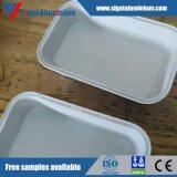 Белая фольга цвета 8011 смазанная алюминием DOT2 для контейнера еды