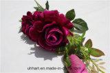 결혼식 장식 고품질 피복 Rosas 인공적인 로즈 꽃