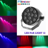 12PCS 1W LED Mini PAR lumières RGBW de scène Disco Light Party