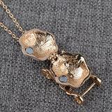 Het Openen van de Halsband van de Tegenhanger van het Medaillon van het Vervoer van de Pompoen van Cinderella van de Halsband van het metaal ImitatieDoos