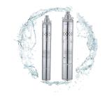 Pompe submersible profonde profondeur de 4 pouces 0.5HP en acier inoxydable