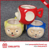 Caneca de café cerâmica dos mini desenhos animados bonitos por atacado (CG215)