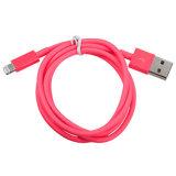 Alambre del cable de datos al cable de carga de la cuerda del cargador del USB para el iPhone