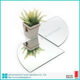 Personnaliser la taille de coupe bordure argent poli miroir avec AS/NZS&ISO&SG&Certification CE