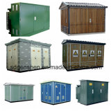 Subestação em forma de caixa pré-fabricada da Economia-Energia Ybw-12 trifásica (européia)