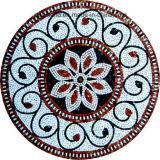 素晴らしい一見の壁の装飾的な円形のモザイク模様デザイン