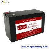 Batteria di litio LiFePO4 12V7ah per solare e di telecomunicazione