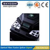 Equipos de fibra óptica Alineación de núcleo Fusion Splicer Pantalla LCD