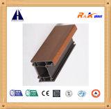 Il legno ha laminato il profilo di plastica dell'espulsione del PVC di 60 serie della stoffa per tendine per la finestra della stoffa per tendine del PVC