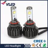 Linterna H1 H3 H7 H11 H4 880 del coche del LED 881 9006 linternas de 9005 MAZORCAS LED, linterna del coche de V16 K7 LED