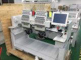 2本のヘッド15糸の刺繍Machine