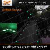De Teller van de fluorescentie, de Plastic Weerspiegelende Nagel van de Weg voor Verkeersveiligheid