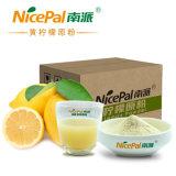 Pura comida natural / verde / buen sabor de limón polvo de jugo de frutas