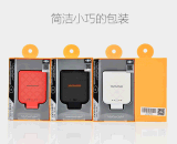 Portable haute qualité de la Banque d'alimentation 2200 mAh pour iPhone Ce fac RoHS certifié UL