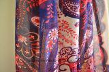 Nuova signora Scarf del poliestere di Paisley di arrivo con le nappe colorate (HWBP104)