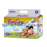 Ruban magique à la mousse jetable en coton jetable Untra Soft Diaper for Baby
