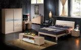 판매 (UL-LF004)를 위한 중국 작풍 앙티크 디자인 단단한 나무 침대